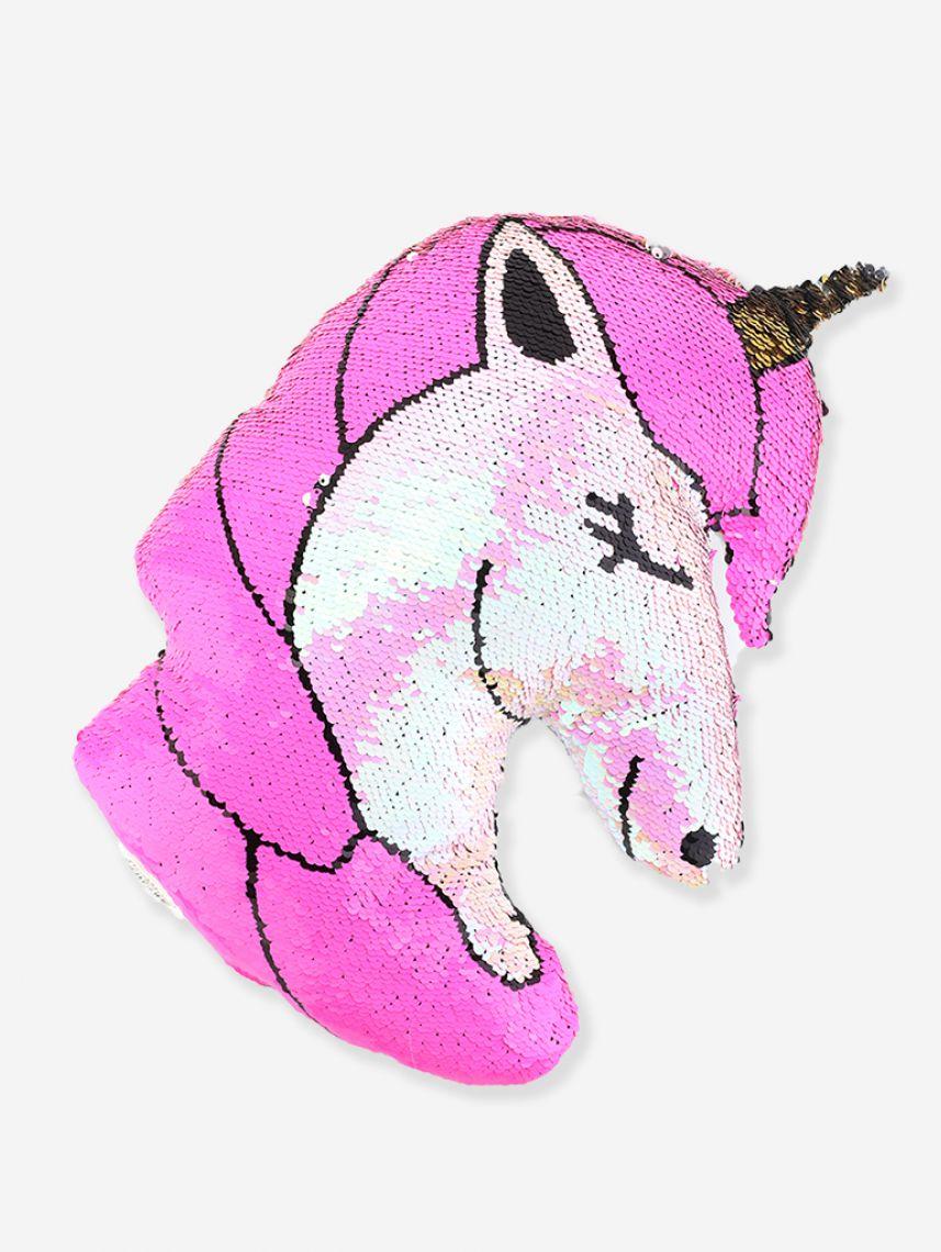 כרית בצורת Unicorn