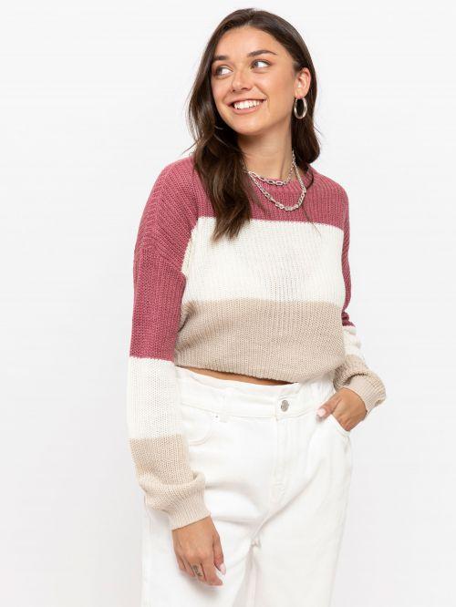 סוודר פסים