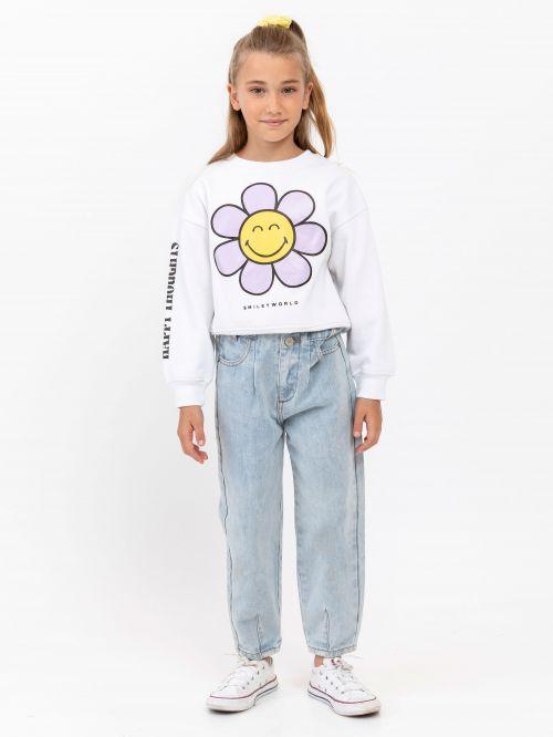 מכנסי ג'ינס ארוכים   Smiley