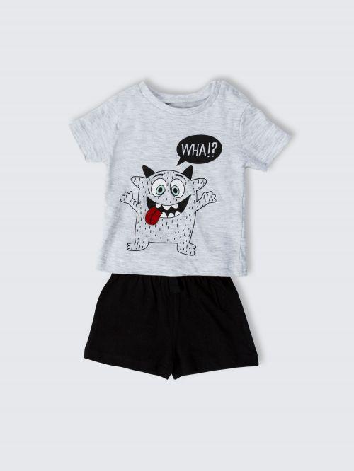 סט מכנסיים וחולצה לתינוקות