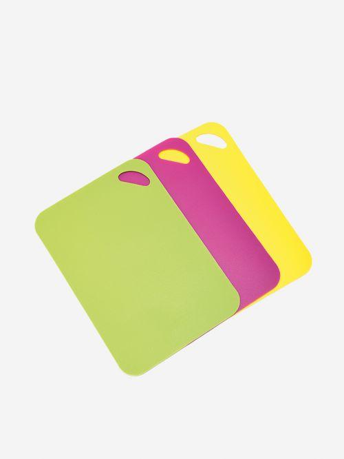 מארז 3 קרשי חיתוך צבעוניים