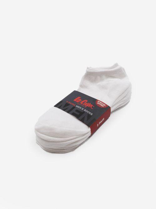 מארז 5 זוגות גרביים לגברים | Lee Cooper